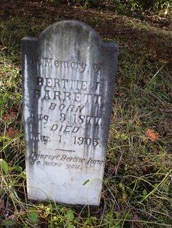 Berttie J Barrett