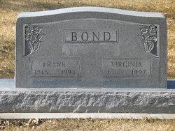 Virginia Florence <I>Gross</I> Bond