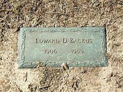 Edward Dickerson Backus