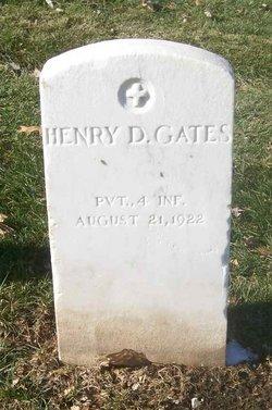 Henry D Gates