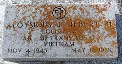 Aloysious Joseph Hebert, III