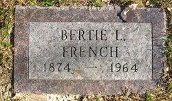 Bertie A. <I>Lapham</I> French