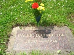 "California ""Callie"" <I>Brown</I> Charlton"