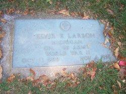 Elvir E Larson