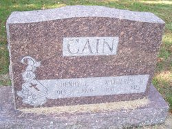 Katherine M <I>Hodgson</I> Cain