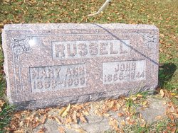 Mary Ann <I>Neave</I> Russell