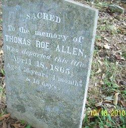 Thomas Roe Allen
