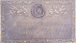 Mable B. <I>Tannahill</I> Gordon