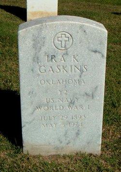 Ira K Gaskins