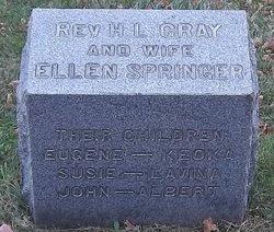 Rev Henry Liggett Gray