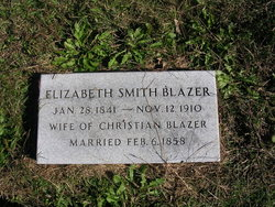 Elizabeth J <I>Smith</I> Blazer