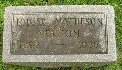 Louise S <I>Matheson</I> Nelson