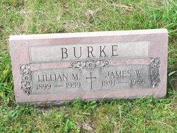 Lillian May <I>Percival</I> Burke
