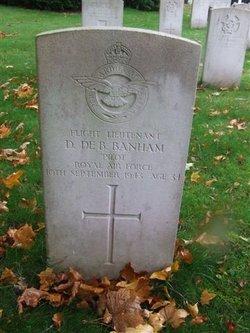 Flight Lieutenant ( Pilot ) David De Bower Banham