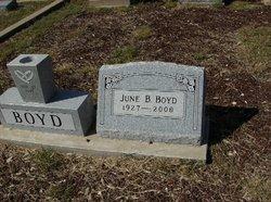 Wanda June <I>Bischoff</I> Boyd