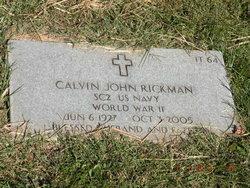 Calvin John Rickman