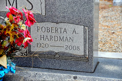 Roberta A. <I>Hardman</I> Adams