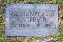"William James ""Short Billy"" Anderson"