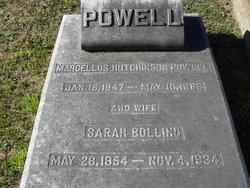 Sarah <I>Bolling</I> Powell