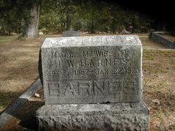 Maude M <I>Hale</I> Barnes