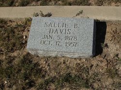 Sallie B Davis