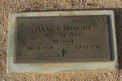 Isaac L Simmons