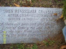 John Rensselaer Chamberlain