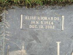 Elise <I>Richards</I> Lang