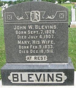 Rev John Wesley Blevins