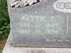"""Elizabeth Frances """"Bettie"""" <I>Eustace</I> Clark"""