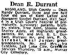 Dean Randy Durrant