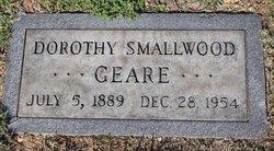 Dorothy Archibald <I>Smallwood</I> Geare