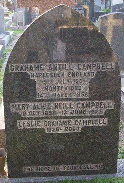 Grahame Antill Campbell