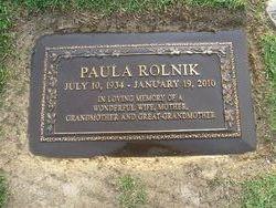 Paula Lee <I>Niemeyer</I> Rolnik
