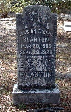 Marion Thelma Blanton