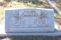 Docia Rebecca <I>Clements</I> Austin
