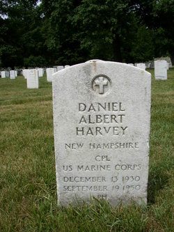 Corp Daniel Albert Harvey