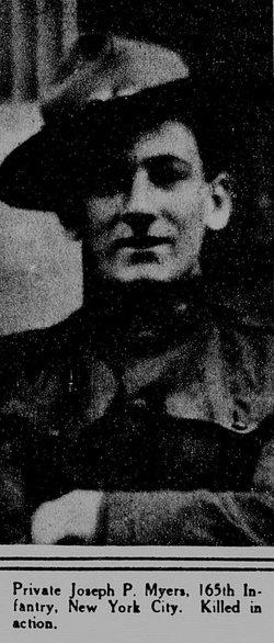 Pvt Joseph P. Myers