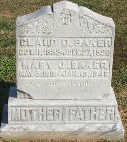 Mary Jane <I>Rogers</I> Baker