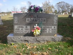 Anna Bell <I>Roberts</I> Adamson