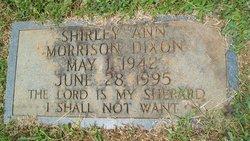 Shirley Ann <I>Morrison</I> Dixon