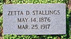 """Winnie Luzetta """"Zetta"""" <I>Dellinger</I> Stallings"""