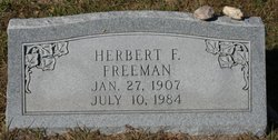 Herbert F Freeman