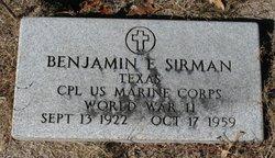 Benjamin E. Sirman