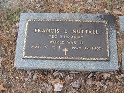Francis L Nuttall