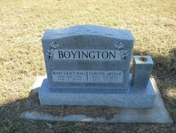 Mary Grace <I>Hall</I> Boyington