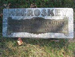 Elizabeth <I>Hickey</I> McCroskey