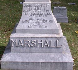 Martha Washington <I>Arnold</I> Marshall