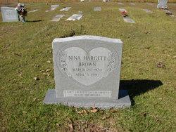 Nina <I>Hargett</I> Brown