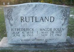 "Henry Frederick ""Fred"" Rutland"